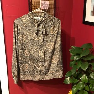 Alfred Dunner Polyester Blouse